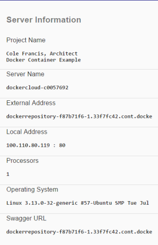 dockersuccess
