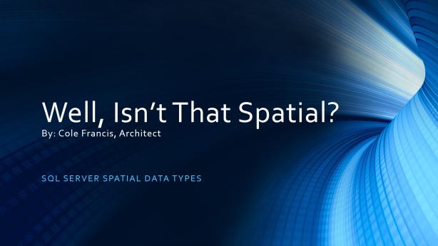 SQL Server Spatial