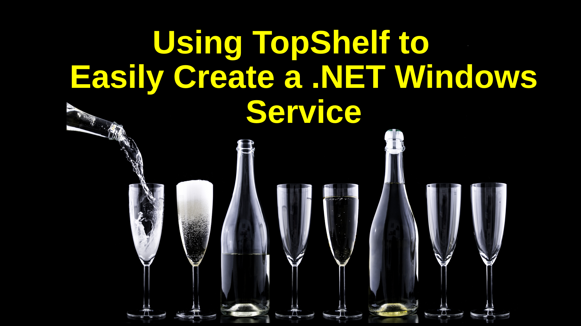 Using TopShelf to Easily Create a  NET Windows Service